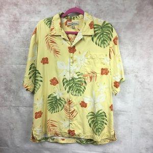 Tommy bahama Silk Floral Hawaiian Shirt